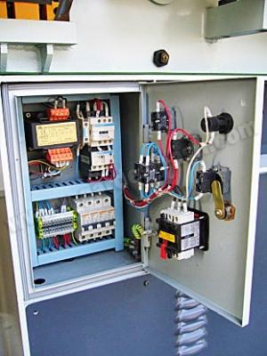Электрическая часть под управлением  Omron и Schneider Electric - Telemecanique (24 V  управление клапанами) 2