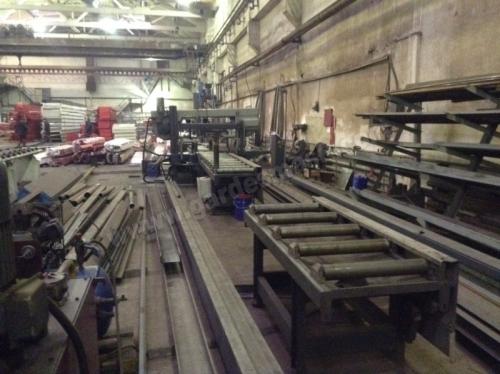 Установка  газо-плазменной  резки портального типа рабочая зона 2000 х 6000 мм