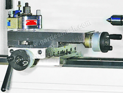 Вид рабочих механизмов токарного станка 3