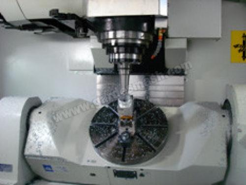 Фрезерный обрабатывающий центр с ЧПУ FNS-5AG (рабочий процесс)
