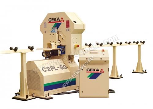 Автоматическая линия C2PL-80 предназначена для обработки уголкового профиля от 40 до 80 мм.