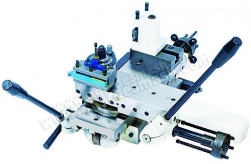Вид рабочих механизмов токарного станка 2